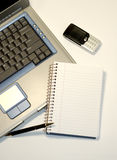 Ufficio portatile Immagine Stock