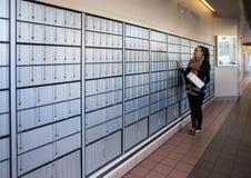 Ufficio postale Fotografie Stock Libere da Diritti