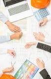 Ufficio progetti Immagine Stock