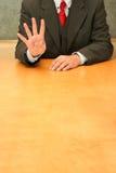 Ufficio: quattro Immagine Stock