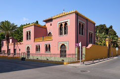 Ufficio turistico Spagna di Almunecar Fotografia Stock