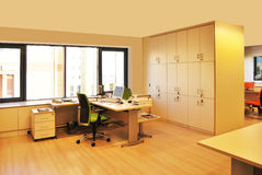 Ufficio vuoto Immagini Stock