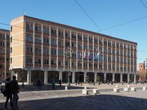 Ufficitecnici (gemeentelijke technische bureaus) in Turijn royalty-vrije stock afbeeldingen