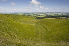 Uffington-Krippe Stockfotos