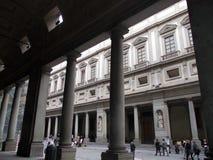 uffizi宫殿 免版税库存照片