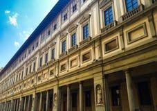 Uffizi de Florencia fotos de archivo libres de regalías