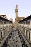 Uffizi de Florencia foto de archivo libre de regalías