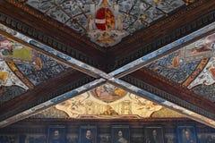 Uffizi-Decke stockfotos