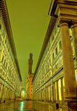 Uffizi-Firenze,Italy Stock Photography