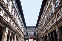 Uffizi in Florence Stock Photos