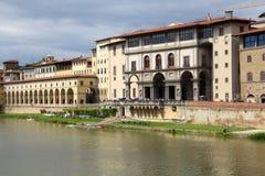 Uffizi, Florence stock afbeeldingen