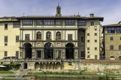 Uffizi galleri i Florence Royaltyfria Foton