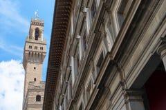 Uffizi galleri, primär konstmusem av Florence italy tuscany Arkivbilder