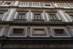 Uffizi galleri, primär konstmusem av Florence italy tuscany Royaltyfri Foto