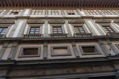 Uffizi galleri, primär konstmusem av Florence italy tuscany Royaltyfria Foton