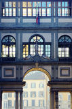Uffizi Gallery in Florence, Italy Stock Images