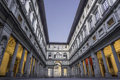 Uffizi Gallery in Florence Stock Photo