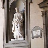 Uffizi gallery, Florence stock image