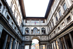 Uffizi Gallery, Royalty Free Stock Photo