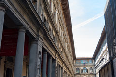Uffizi Gallery, primary art museum of Florence. Tuscany, Italy Royalty Free Stock Image