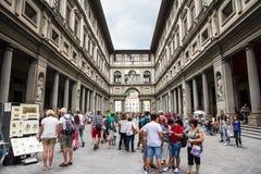 Uffizi museum Arkivbild