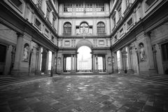 Uffizi museum, Florence Royalty Free Stock Images