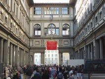 Uffizi Museum Florence stock photography