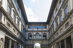 Uffizi museum Stock Photos