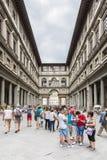 Uffizi museum Stock Photo