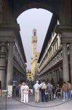 Uffizi van Florence stock afbeelding