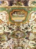 Uffizigalerij en grotteschi in Florence, Italië stock foto's