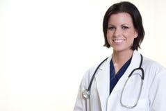 Ufna latynoska medyczna fachowa kobieta obrazy stock