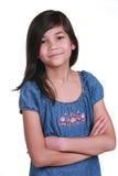 ufni dziewięć stary dziewczyna rok Zdjęcie Royalty Free