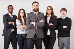 Ufni ludzie biznesu W biurze zdjęcie royalty free