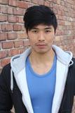 Ufny Azjatycki mężczyzna portret Zdjęcie Stock