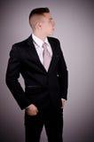 Ufny biznesmena portret Fotografia Royalty Free