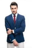 ufny biznesmena portret Zdjęcia Stock