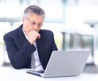 Ufny biznesowy mężczyzna zdjęcie stock