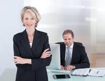 Ufny Bizneswoman Fotografia Stock