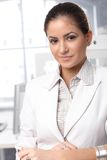 Ufny bizneswomanu portret Fotografia Royalty Free