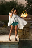 Ufny piękny brunetki mody model Obraz Stock