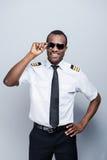 Ufny pilot Obraz Royalty Free