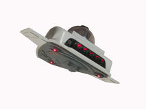ufo полета Стоковое Изображение RF