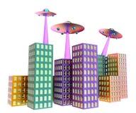 UFO -飞碟 皇族释放例证