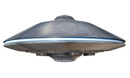 UFO. 3d illustration of a flying saucer Stock Illustration
