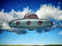 Ufo royalty free illustration
