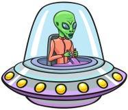 UFO. Obraz Royalty Free