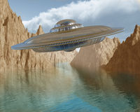UFO Stock Foto's
