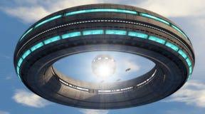 UFO Immagini Stock Libere da Diritti