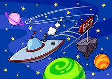 UFO Stock Foto